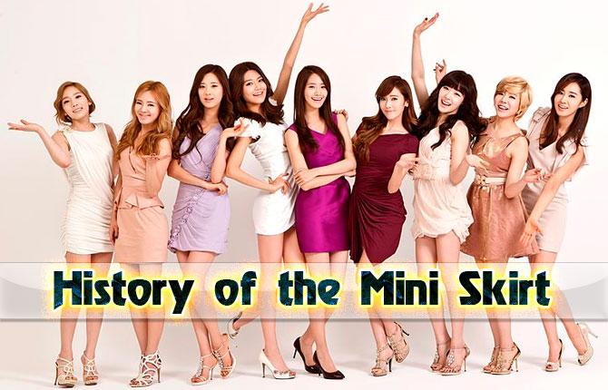 History of the Mini Skirt