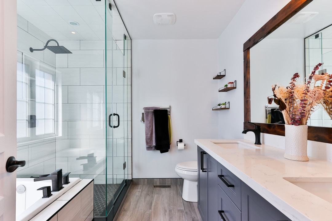 Commit to a luxurious bathroom